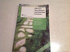 RECRUITMENT & SELECTION PRACTICES BOOK,  BEST SELLER $65.00, BARGAIN