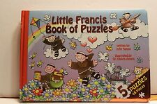 LITTLE FRANCIS BOOK OF 5 BOARD PUZZLES Franciscan Catholic Christian St. Francis