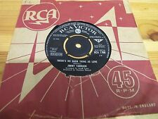 """RCA 1760 UK 7"""" 45RPM 1968 JIMMY TARBUCK """"THERE'S NO SUCH THING AS LOVE"""" EX"""