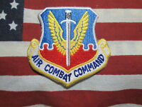 USAF US AIR FORCE AIR COMBAT COMMAND COLOR PATCH