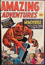 AMAZING ADVENTURES COMIC #5 (ATLAS,1961) SILVER AGE ~