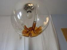 Mid Century 70er Italy Mazzega Murano Glas Kugel  Decken Lampe Cieling Ball Lamp