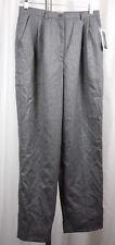 Jennifer Moore Petite Womens Grey Wool Fully Lined Slacks Size 8P NWT