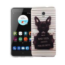 Case for ZTE Blade V7 Evil Dog Case Cover Motif Slim TPU Bumper