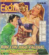 """EROTICOS ANONIMOS """"JUGO VAGINAL"""" mexican comic SEXY GIRLS, SPICY HISTORIES #96"""