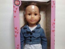 Uneeda Girlie Girlz Doll 18 inch Fair Brown Hair Brown Eyes 2013