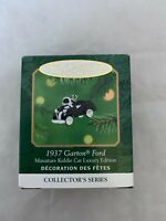 2001 Hallmark Keepsake 1937 Garton Ford Kiddie Car Miniature Christmas Ornament