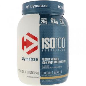 Dymatize Nutrition, ISO 100 Hydrolyzed, 100% Whey Protein Isolate, Gourmet 1.6