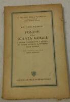 Antonio Rosmini - PRINCIPI DELLA SCIENZA MORALE - 1951 - SEI