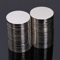 50Pcs N50 15x1mm Super Strong Neodymium Disc Rare Earth Small Fridge Magnets