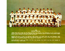 1968 BOSTON RED SOX TEAM 8X10 PHOTO YASTRZEMSKI SMITH  BASEBALL FENWAY