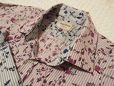 """TED BAKER Mens Shirt 🌍 Size 15.5"""" (42"""" CHEST) 🌎RRP £110+📮FANTASTICALLY FLORAL"""