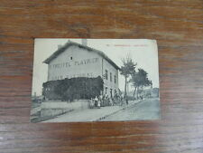 1 x CPA carte Postale Postcard 54 VARANGEVILLE Café TREFFEL PLATRIER