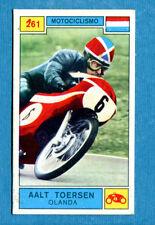 Figurina CAMPIONI DELLO SPORT 1969/70-n. 261 - TOERSEN (NED) -MOTOCICLISMO-New