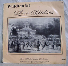 33 RPM 25cm the Waltzes of Waldteufel Disk the Philharmonia Orchestra Classic