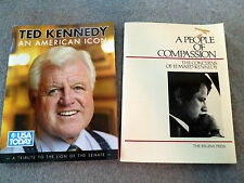 EDWARD TED KENNEDY BOOK LOT US Senate TEDDY People Compassion AMERICAN ICON EMK
