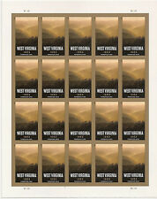 US 4790a West Virginia imperf NDC sheet MNH 2013