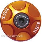 A2Z Anodised Alloy Headset Compressor Topcap Top Cap Orange MTB Bicycle Bike