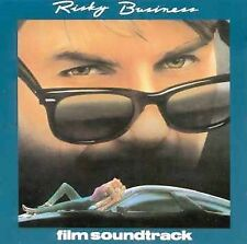 Risky Business CD Soundtrack Tangerine Dream Jeff Beck Prince Phil Collins Muddy