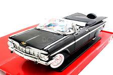 Road Signature 1959 Chevrolet Impala Conv Black Limited E 1/18 Diecast  Car