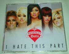 "PUSSYCAT DOLLS ""I HATE THIS PART"" 4 Track CD SINGLE MIT VIDEO"