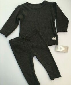 Baby Boys M&S Grey Casual Outfit in sizes 6-9 or 9-12 months  RRP £14