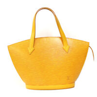 LOUIS VUITTON Shoulder Bag M52279 yellow Tassiri Yellow Handbag Epi Sun jack...