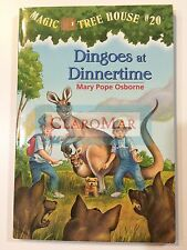 ☀️NEW Dingoes at Dinnertime No. 20 Mary Pope Osborne Magic Tree Paperback Book