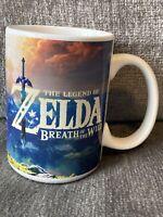 Legend of Zelda Breath of the Wild Gamer Coffee Mug Licensed Nintendo *NEW*