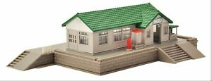 N Scale Tomix  Wooden Station Building (prebuilt, ready to go)