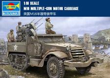 Trumpeter 1/16 M16 Half Track Multiple Gun Motor Carriage # 00911