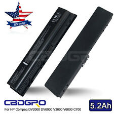 6Cell Laptop Battery for HP Compaq DV2000 DV6000 V3000 V6000 C700 F500 F700 A900