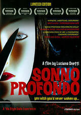 Sonno Profondo (Deep Sleep) DVD Italian Horror Giallo Slasher