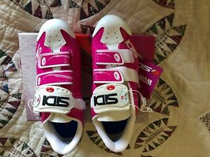 Sidi Trace Women's Mountain Bike Shoes-Size 41 (EUR) 8.75 (US) Fuchsia/White NIB