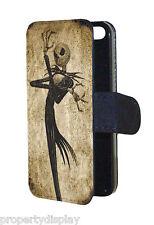 Jack Skellington Nightmare Before Christmas Wallet / Flip Phone Case Cover
