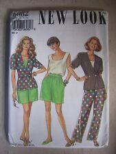 Women's New Look Simplicity Pattern #6082, Slacks & tops, Sizes 6-16, Uncut