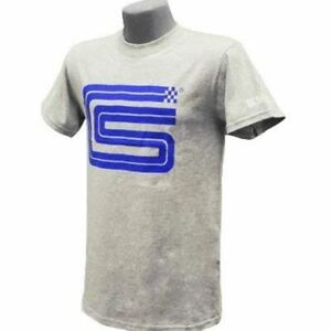 Shelby Signature Logo Grey T-Shirt - Last Ones Ever! Worldwide Shipping! LOOK!