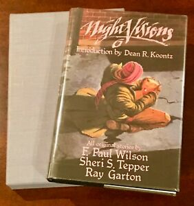 RARE NIGHT VISIONS 6 w/ INTRODUCTION by DEAN KOONTZ- SIGNED LMTD ED #189 of 600!