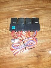 #G) 4x Directed Electronics 610T Dei 40/30A Nvf4 Automotive Car Vehicle Relay