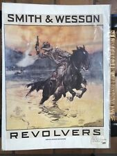 Vintage 1982 Print Reproduction Smith & Wesson Ad