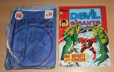 ED.CORNO SERIE DEVIL GIGANTE  N° 9 1977  CON BUSTA ORIGINALE APERTA  N° 10 !!!!!