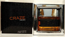 Craze By Armaf 3.4 oz /100 ml Eau De Parfum Spray For Men (NIB) SEALED