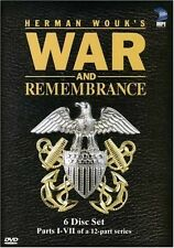 WAR AND REMEMBRANCE New Sealed DVD Parts 1 - 7 OOP Out of Print