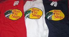 Men's Size XXL Bass Pro Shops Sweatshirt Long Sleeve Red Blue Fishing Shirt 2XL