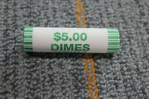 2009 P&D US Mint Roosevelt Dimes Uncirculated 50-coin Roll