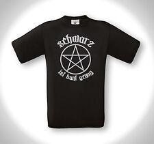 Negro es lo suficientemente multicolor-t-shirt-Metal Death metal emo Gothic hardcore punk Oi