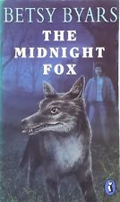 The Midnight Fox by Betsy Byars ex-library vintage illustrated paperback 1976