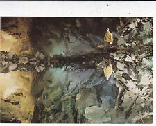 Llechwedd Slate Caverns Railway Posted Underground Postcard used 1991 VGC