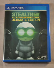 Stealth Inc a Clone in the Dark Sony PS Vita New Limited Run Games LR-V12 Sealed