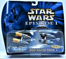 Star Wars Micro Machines Episode I Pod Racer Pack I Galoob/Tomy New In Box Mint